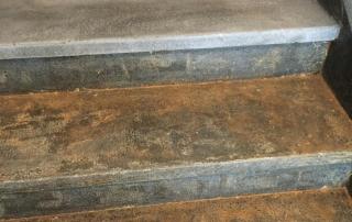 Steinbodensanierung Treppe